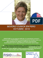 Afiche curso beverly cushick