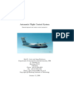Automatic Flight Control System Classica