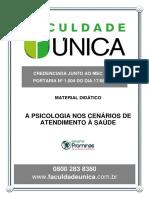 A PSICOLOGIA NO CENÁRIO DE ATENDIMENTO À SAÚDE