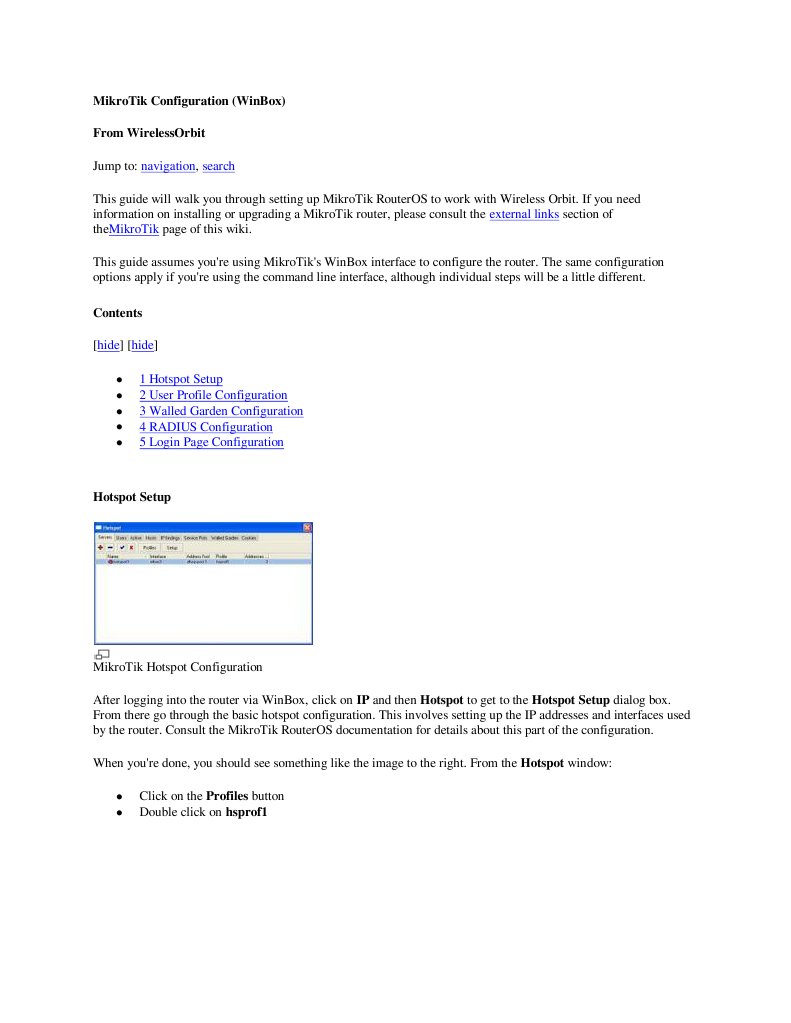 MikroTik Configuration | Internet Protocols | Areas Of