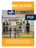 TUDO SOBRE AS PROVAS DO CORREIO