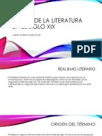 Etapas de La Literatura en El Siglo Xix