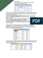 Ejemplo de Base de Datos en Access