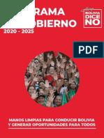 Plan de Gobierno - Bolivia Dice NO.pdf