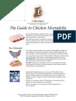 Chicken Mortadella