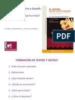 TEATRO Y GESTALT Ok Presentacion Completa 24 Abril 20131
