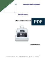 Fibrintimer II Manual 200641994813