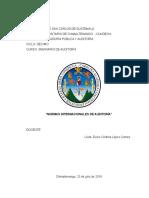 Grupo No. 2 Normas Internacionales de Auditoría