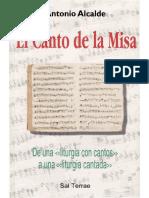 Antonio Alcalde El Canto de La Misa