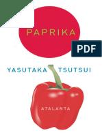 Paprika (Yasutaka Tsutsui)