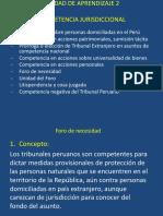 Competencia internacional tribunales peruanos