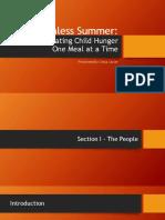 summer presentation