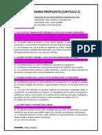 CUESTIONARIO MERCADO DE VALORES