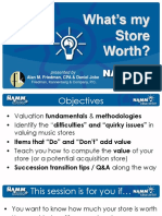 NAMM-Idea-What is My Store Worth