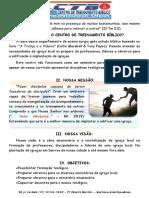 CTB - Finalidade Missão e Visão