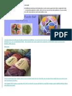 Crochet Flower Ball Pattern