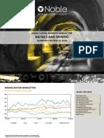 Noble Mining Newsletter Q22018