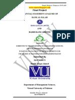 1 HABIB BANK Final Project FIN619-Project-VU