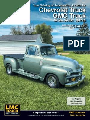 1947-54 Chevy Truck Transmission Floor Cover Gasket Set
