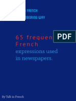 65 French Newspaper Expressions
