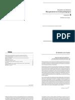 ALLAUD, A. y DUSCHATZKY, S., Maestros. Formación, práctica y transformación escolar, Miño y Dávila, Bs. As., 1992.