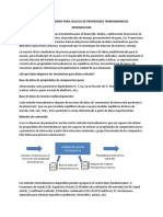 Uso de Simuladores Para Cálculo de Propiedades Termodinámicas