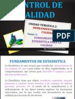 Unidad Tematica 2 1 Control de Calidad 2019