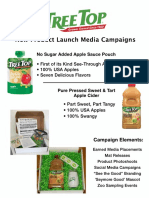 Consumer Product Launch Campaign Sample