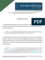 Aula_Jurisprudência Em Teses 82 - Poder de Polícia