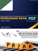 PPN-01 Kewajiban PPN Pengusaha Kena Pajak
