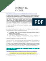 La Citación en El Proceso ordinario en materia Civil