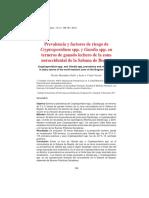 Prevalencia y factores de riesgo de Cryptosporidium spp. y Giardia spp. en terneros de ganado lechero de la zona noroccidental de la Sabana de Bogotá