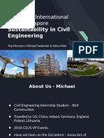 Civil International Trip Presentation - June 3, 2019