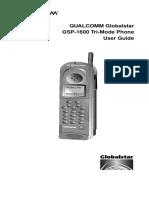 Gsp1600 Manual
