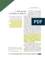 Victoria.novelo, (2002) Ser Indio, Artista y Artesano en México-Desbloqueado