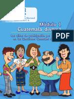 Capacitación Electoral Módulo 01, Guatemala Diversa, TSE Guatemala