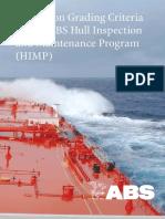 Inspección y programa de mantenimiento, recubrimientos en buques