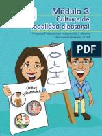 Capacitación Electoral Módulo 03, Cultura de Legalidad Electoral, TSE Guatemala