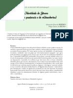 Identidade de Genero Discursos Passionais de Descobertas e (Re)Descobertas - Alexandre Marcelo Bueno - Felipe Santos Da Silva