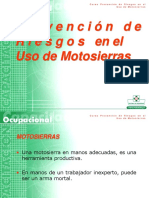 Prevención de Riesgos en el Uso de la Motosierra 2001.ppt