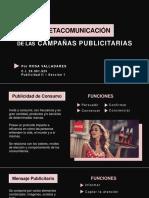 Metacomunicación de las campañas publicitarias