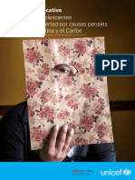 Situación Educativa de Las y Los Adolescentes Privados de Libertad Por Causas Penales en ALC