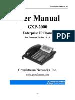 Manual Gpx2000
