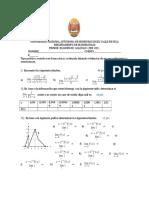 Examen calculo limites