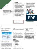 Trptico Procedimiento en caso de accidente laboral.docx