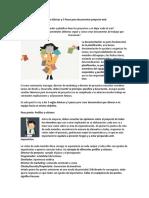 5 Pasos y 5 Reglas Documentacion