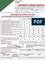 cuestionario prostata