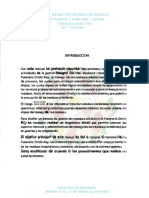 Manual Gestion de Residuos Fcr