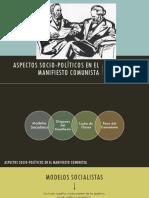 Aspectos Socio-políticos en El Manifiesto Comunista