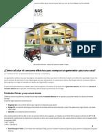 ¿Cómo calcular el consumo eléctrico para comprar un generador para una casa_ _ De Máquinas y Herramientas1.pdf